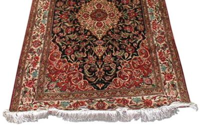 Afghan rugs, the trade-off for new tribal rugs.