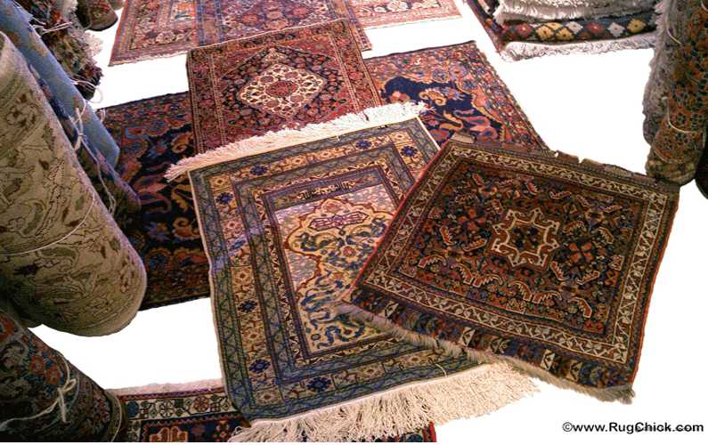 Buying rugs. (Tips for the nervous rug