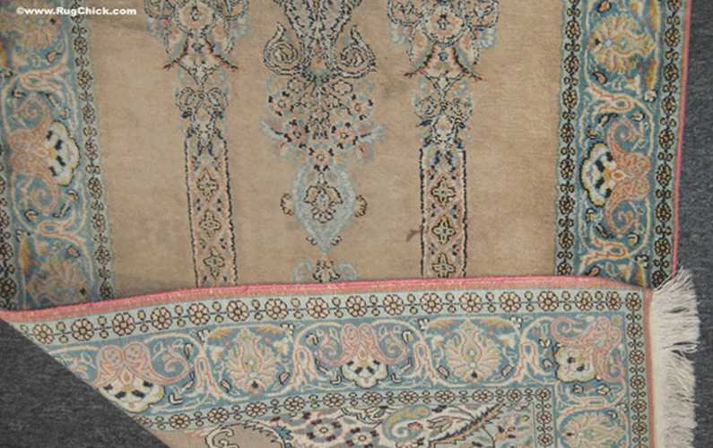 FAKE silk rugs. What you need to know