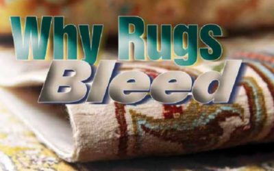 Rug Dyes. What makes them bleed