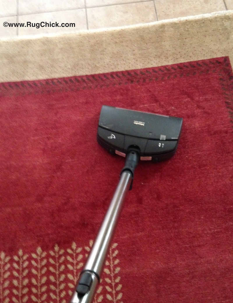 Wrong way to vacuum
