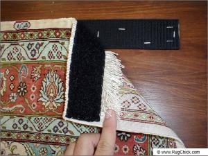 Velcro corners