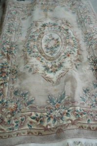 Chinese rug popular in the 1980s-1990s