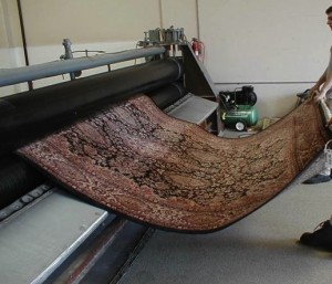 Large wringer for rugs