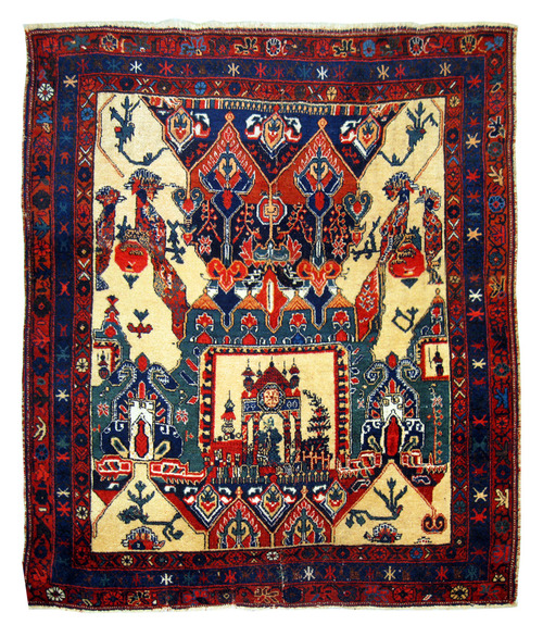 Gorgeous old Afshar rug.