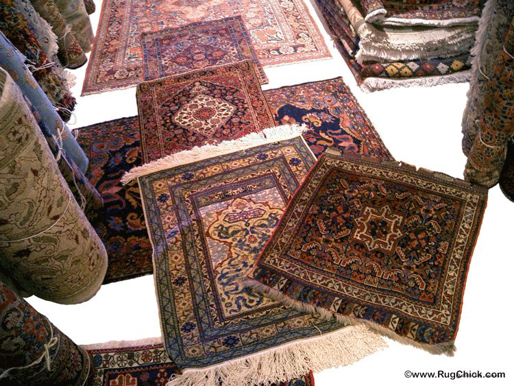 Beautiful Persian rugs for sale.