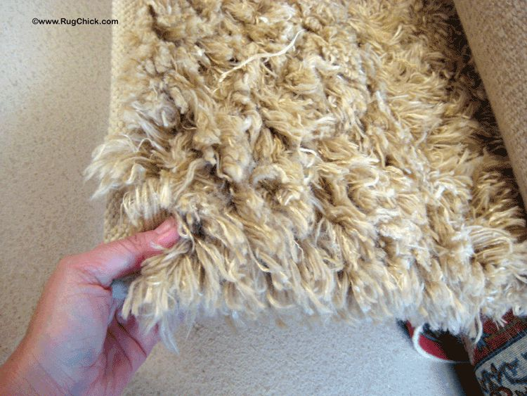 Shag rugs are tough to clean, and cost extra.