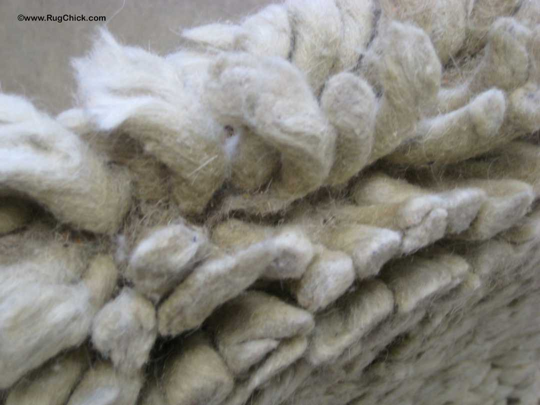 Chunky wool shedding