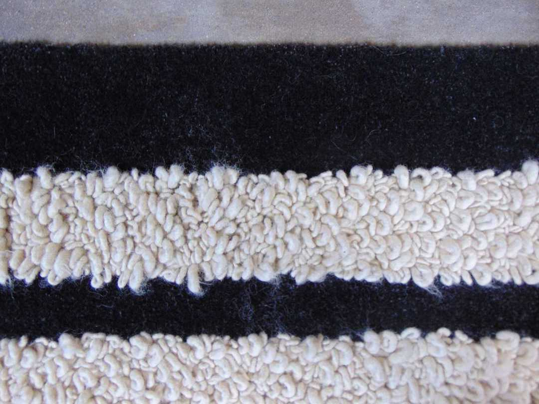 looped wool rug